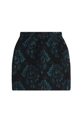 Roberto Cavalli Jacquard Mini Skirt Black