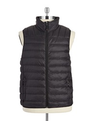 Hawke And Co Packable Puffer Vest Black