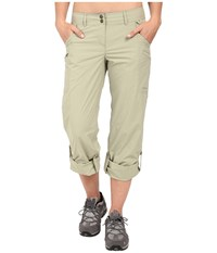 Exofficio Nomad Roll Up Pant Botanic Women's Casual Pants Khaki