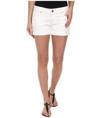 Paige Jimmy Jimmy Short In Optic White Optic White Women's Shorts