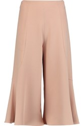 Iris And Ink Fluted Cady Culottes Blush