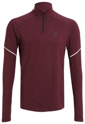 Your Turn Active Sports Shirt Winetasting Dark Purple