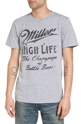 The Rail Men's Graphic T Shirt Grey Heather Miller