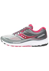 Saucony Guide 10 Stabilty Running Shoes Silver Berry