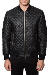 Men's 7 Diamonds 'Lafayette' Quilted Leather Jacket