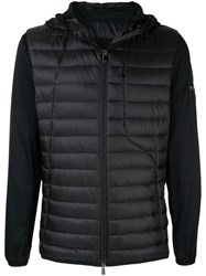 Tatras Quileted Hooded Jacket Black