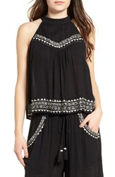 Band Of Gypsies Women's Embroidered Top