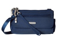 Baggallini Plaza Mini Pacific Cross Body Handbags Blue