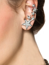 Pixie Market Shooting Star Diamond Ear Cuff