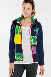 Chums Mammoth Patchwork Hoodie Jacket Multi
