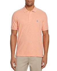 Brooks Brothers Supima Cotton Perfect Classic Fit Polo Shirt Light Coral