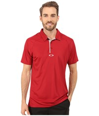 Oakley Elemental 2.0 Polo New Crimson Men's Short Sleeve Pullover Red