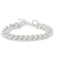 James Tanner Sterling Silver Chain Link Bracelet