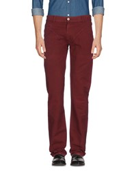 Exte Casual Pants Maroon