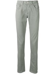 Dondup Slim Fit Jeans Green