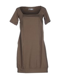 Aniye By Dresses Short Dresses Women Military Green