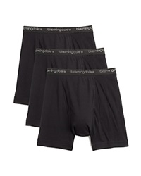 The Men's Store At Bloomingdale's Boxer Briefs Pack Of 3 Black