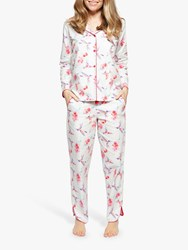 Cyberjammies Evie Hummingbird Pyjama Set White Red