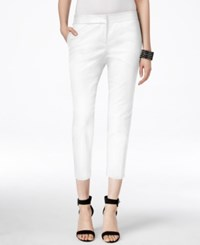 Vince Camuto Cropped Skinny Pants New Ivory