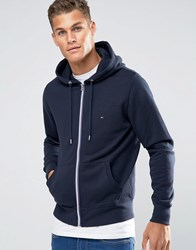 Tommy Hilfiger Hoodie With Zip Up In Navy 08578A1576
