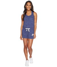 Nike Sportswear Vintage Romper Binary Blue Sail Women's Jumpsuit And Rompers One Piece