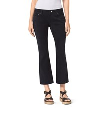 Michael Michael Kors Cropped Flared Leather Pants