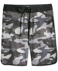 Quiksilver Men's Camo Swim Shorts Black