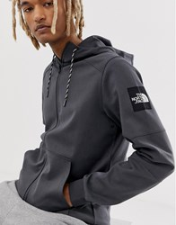 The North Face Fine 2 Full Zip Hoodie In Grey
