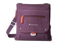 Sherpani Sadie Small Crossbody Shoulder Bag Plum Cross Body Handbags Purple