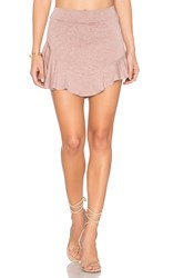 Riller And Fount Buzzy Skirt Pink