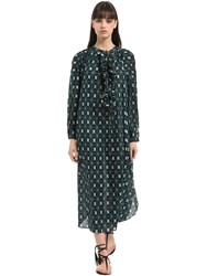 Yvonne S Printed Cotton Voile Dress