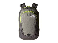 The North Face Vault London Fog Heather Chive Green Backpack Bags Black