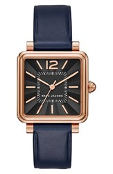 Marc Jacobs Women's 'Vic' Leather Strap Watch 30Mm