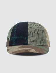 Mhi Maharishi Upcycled Patchwork Cap Multicolor