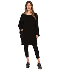 Limi Feu Cap Sleeve Cape Top Black Women's Clothing