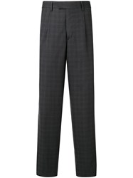 Gieves And Hawkes Check Pattern Tailored Trousers 60
