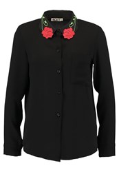 Wal G G. Rose Shirt Black
