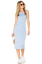 Blq Basiq Midi Tank Dress Blue