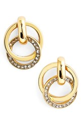 Women's Kate Spade New York 'Infinity And Beyond' Link Stud Earrings Gold
