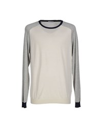 Manipur Cashmere Knitwear Jumpers Men Ivory