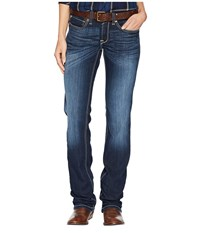 Ariat R.E.A.L.Tm Straight Ella Jeans In Willow Willow Red