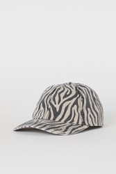 Handm H M Cotton Twill Cap Beige