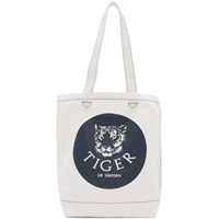 Tiger Of Sweden Off White Circle Tote
