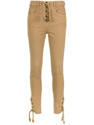 Spacenk Nk Fitted Jeans Nude And Neutrals