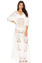 Nightcap Seashell Siren Gown White