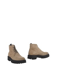 Bruno Bordese Ankle Boots Beige