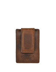 Rawlings Sports Accessories Leather Money Clip Bourbon