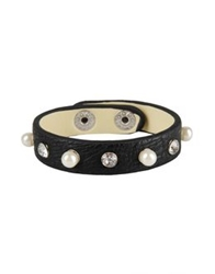George J. Love Bracelets Black