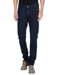 Dog Fox Casual Pants Dark Blue