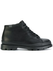 Camper Classic Lace Up Boots Black